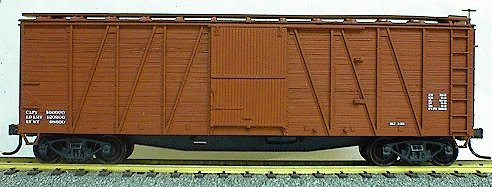 Accurail 4198 40' wd Box wd dr/end Data