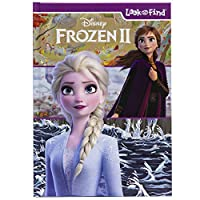 Deals on Disney Frozen 2 Look and Find Activity Book PI Kids Hardcover