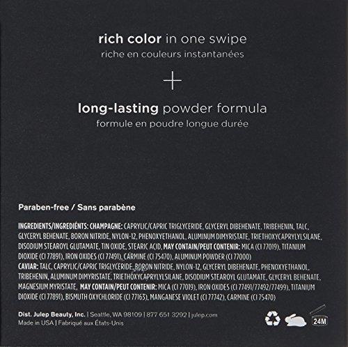 Cream to powder eyeshadow