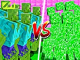 Clip: Mutant Zombies vs Mutant Creepers in Minecraft