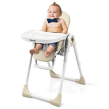 Kinderstuhl Babystuhl Grau Hochstuhl Baby Hochstuhl Verstellbar Kinderhochstuhl