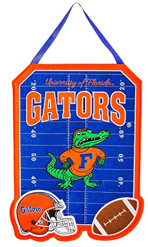 Team Sports America Florida Gators Outdoor Safe Felt Door Decor