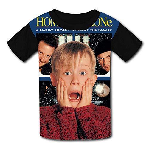 - Alone Kevin at Home Youth Tee Shirts 3D Print Kids T-Shirts Black