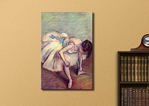 Dancer Adjusting Her Slipper by Edgar Degas