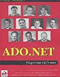 img - for ADO.NET Programmer's Reference by Adil Rehan (2001-09-03) book / textbook / text book