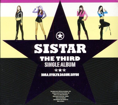 CD : Sistar - 3rd Single Album (Spain - Import)