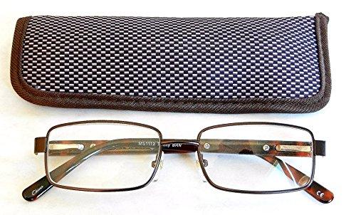 Foster Grant +2.50 Reading Glasses w/ Case (384)+ FREE BONUS MICROFIBER CLEANING - Fossil Sunglasses Cat Eye