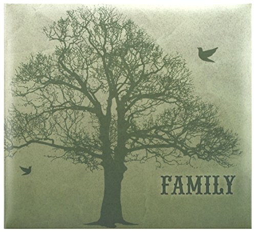 MCS MBI 13.5x12.5 Inch Family Tree Scrapbook Album with 12x12 Inch Pages (860094)