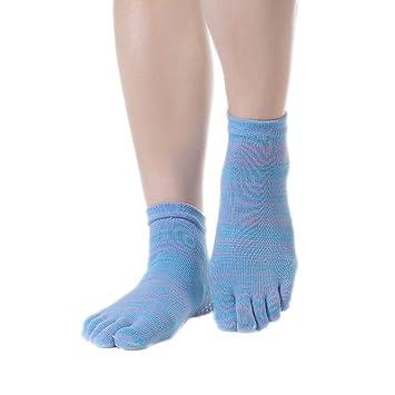 Monbedos - Calcetines de Yoga para Mujer, Antideslizantes ...