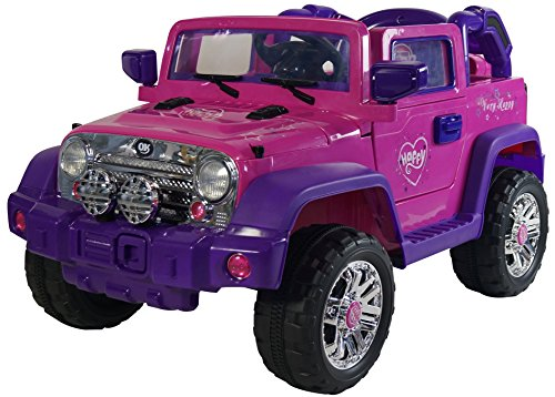 Jeep Style 12-volt Electric Land Rover Style for Kids to Ride – Battery-Powered Ride-On for Boys and Girls – LED Lights, Horn, Engine Sounds, MP3 Port – Fun Toy for Children Ages 2-5 - (Range Rover Kits)