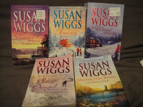(Susan Wigg's Lakeshore Chronicles book set: The Summer Hideaway/Fireside/The Winter Lodge/Snowfall at Willow Lake/Marrying Daisy Bellamy)