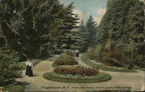 Vassar College - Walks and Flowers, Athletic Circle Poughkeepsie, New York Original Vintage ()