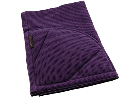 Rachael Ray Multifunctional 2-in-1 Moppine, Ultra Absorbent Kitchen Towel & Heat Resistant Pot Holder, Lavender by Rachael Ray