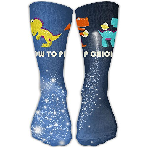 Sexy Sports Chicks (How To Pick Up Chicks Funny Colorful Leggings Tube Cotton Socks Sport Sexy)