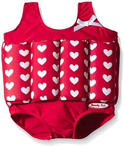 True bambini Bojen Kids nuoto con da Costume Beverly Love da galleggianti rosso CvSqwgTg