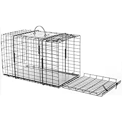 Tomahawk Model 304 End Opening Cage Raccoon, Cat Size 20x11x12