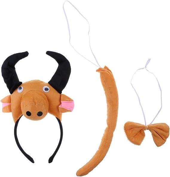 sharplace Navidad Animales cinta lazo cola Niños Juego Kit disfraz ...