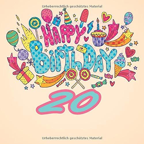 Amazoncom Happy Birthday 20 Geschenk Zum 20 Geburtstag