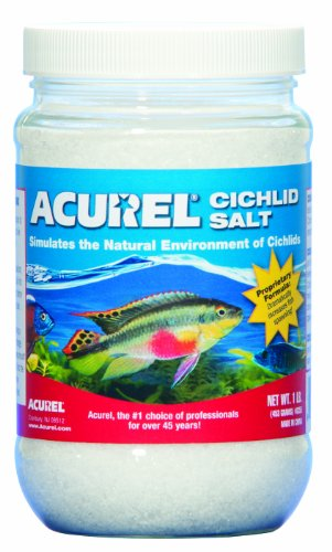 African Cichlids Aquarium (Acurel LLC African Cichlid Salt, Aquarium and Pond Water Treatment, 1-Pound)