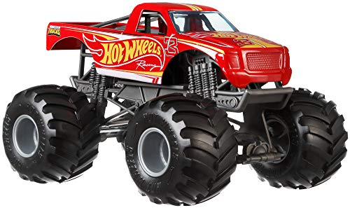 Hot Wheels Racing Monster Truck, 1:24 ()