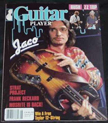 Guitar Player Magazine - August 1984 - Jaco Pastorius, Rush, ZZ Top & More