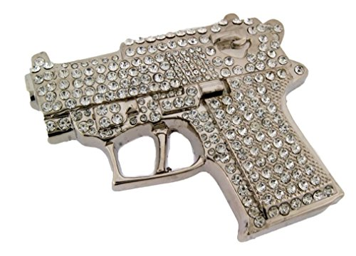 Letter Love Fashion Men Women New Fake Gun Belt Buckle (Belt Buckle New Cool)