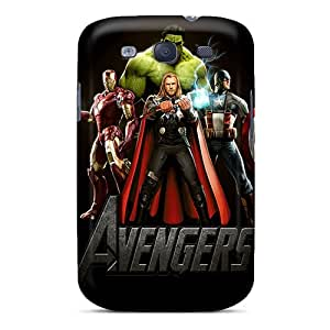 ONW6670GMrl Faddish Avengers Case Cover For Galaxy S3
