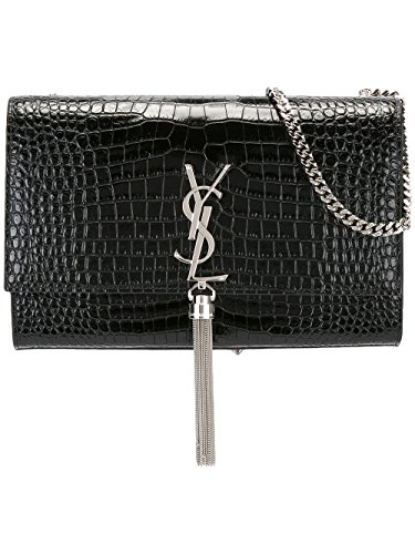 Saint Laurent Women's 354119Dnd0n1000 Black Leather Shoulder Bag by Saint Laurent