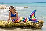 Fin Fun RTLX-RRF-AS-MF Rainbow Reef Adult Mermaid