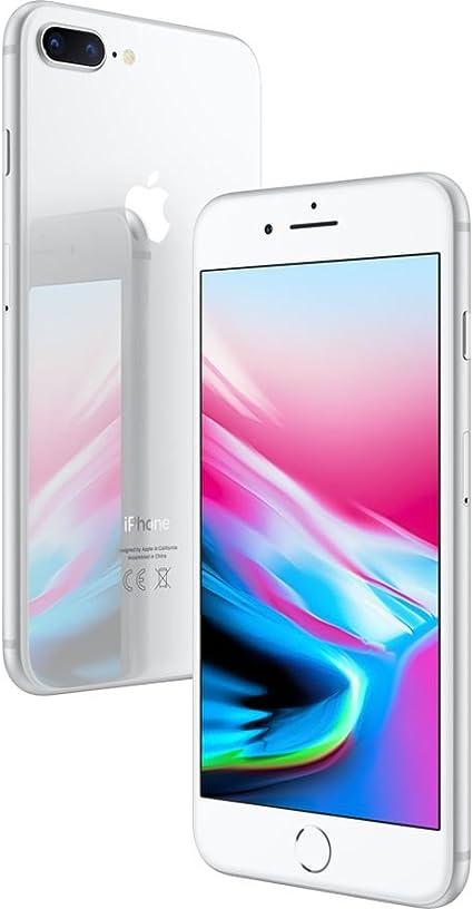 Apple iPhone 8 Plus 64GB Plata (Reacondicionado): Amazon.es ...