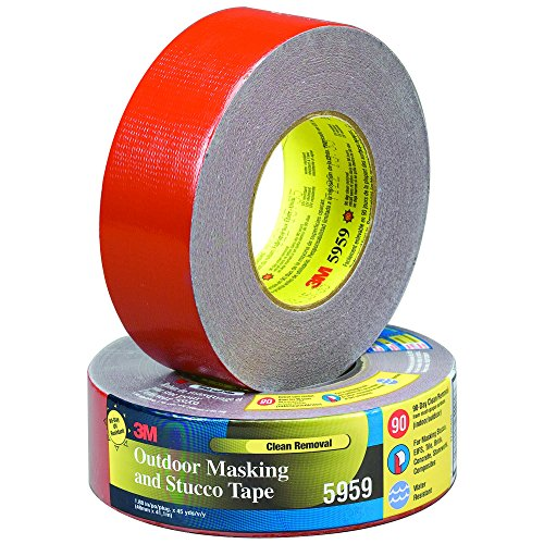 (Partners Brand PT9875959 Red 3M 5959 Duct Tape, 45 yd. Length, 2