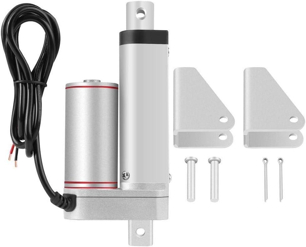 Actuador lineal, carrera de 50 mm, alta resistencia 750N Línea recta Actuador lineal eléctrico 24V