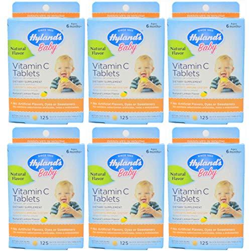 Hylands Vitamin Dissolving Tablets Natural