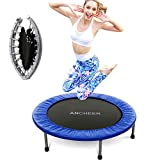 Best Mini Trampolines - ANCHEER Mini Trampoline with Safety Pad, Bouncer Max Review