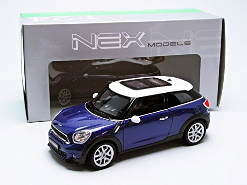 Amazon Com Welly Mini Cooper S Paceman Diecast Car Toys Games