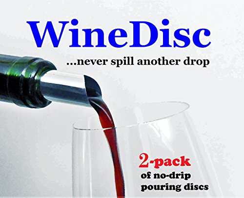 The Original Wine Disc – Drop Stopping Pour Spout (2)