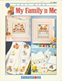 img - for My Family'n Me (cross stitch bears) book / textbook / text book