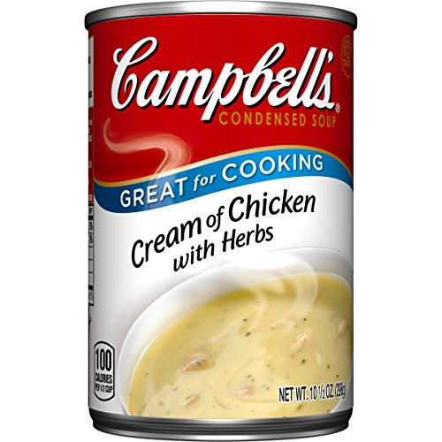 Campbell's Condensed Soup, Cream of Chicken with Herbs, 10.5 Ounce (Pack of 12) (Cream Chicken Soup compare prices)