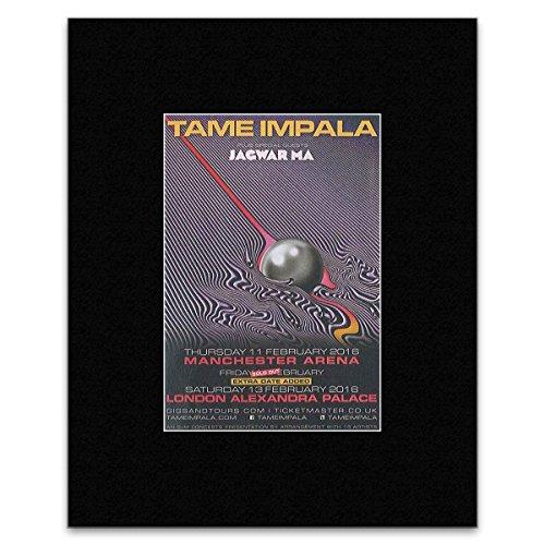 Tour Dates Poster (Tame Impala - 2016 Tour Dates Mini Poster - 25.4x20.3cm)