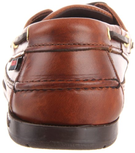 Schooner Oiled Boat Mens Brown Marrone Lea Waxy Shoe Sebago pZBdwxZ