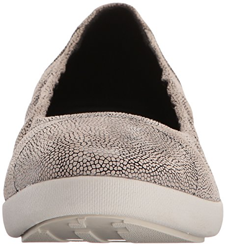 Fitflop Ballerine Pop F Leather Stone Donna Multicolore Pebbleprint 6q6r7