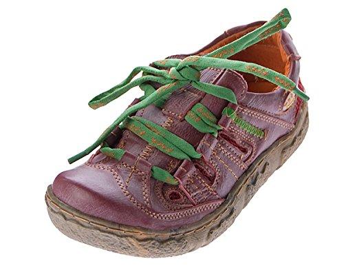 Tma Rouge Ville À Lacets De Chaussures Pour Femme qaAqUf8xw