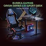 EUREKA ERGONOMIC I1 Gaming Computer Desk, 43.3in