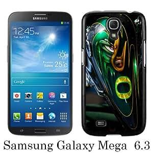 High Quality Samsung Galaxy Mega 6.3 I9200 I9205 Skin Case ,Oregon Ducks 2 Black Samsung Galaxy Mega 6.3 I9200 I9205 Screen Cover Case Popular And Unique Custom Designed Phone Case