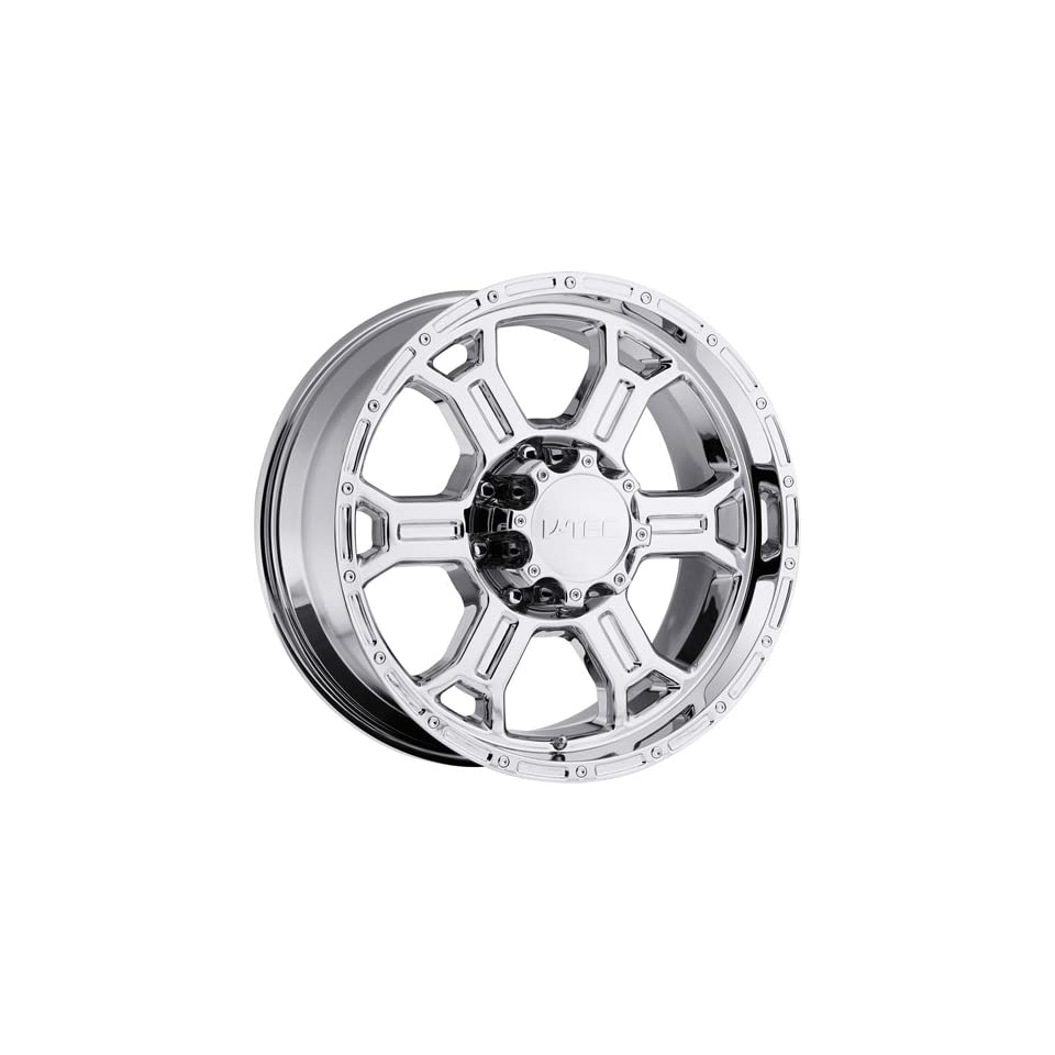 Vision Raptor 17 Chrome Wheel / Rim 6x135 with a 25mm Offset and a 87.1 Hub Bore. Partnumber 372 7836PC25