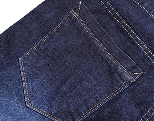 Icegrey Herren Jeans Jeanshose Stretchanteil Spülen Sie Jeanshosen Plus Size