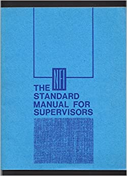 Book The NFI standard manual for supervisors