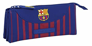 Safta Estuche Escolar FC Barcelona 17/18 Oficial 220x30x100mm