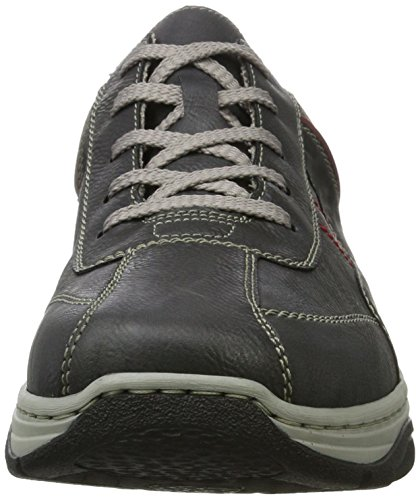 visit cheap online for sale buy authentic online Rieker Men's 16323 Low-Top Sneakers Grey (Rauch/Schwarz/Wine/Fumo) outlet lowest price discount extremely sale amazing price bHRbX