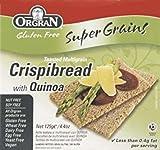 Orgran Super Grains Crispibread with Quinoa Gluten Free -- 4.4 oz